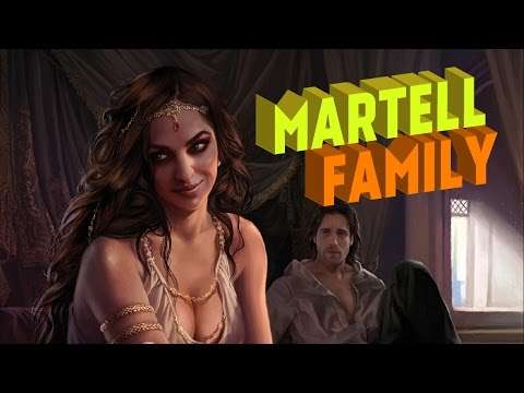 Martell Family Tree  Game of Thrones