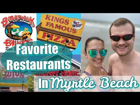 Best Places To Eat In Myrtle Beach SC || Favorite Restaurants In Myrtle Beach