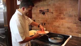 Pan Seared Herb Salmon With Tarragon Vinegar