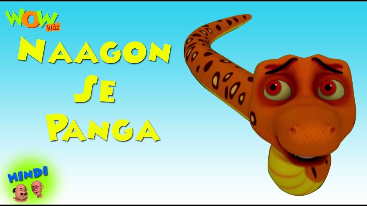 Download Naagon Se Panga - Motu Patlu in Hindi WITH ENGLISH, SPANISH & FRENCH SUBTITLES