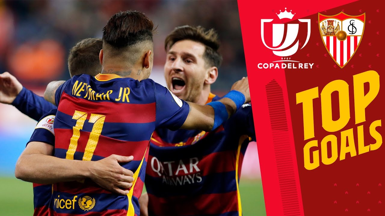 ???????? INCREDIBLE GOALS AGAINST SEVILLA in the Copa del Rey!