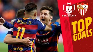 🔥🔥 INCREDIBLE GOALS AGAINST SEVILLA in the Copa del Rey!