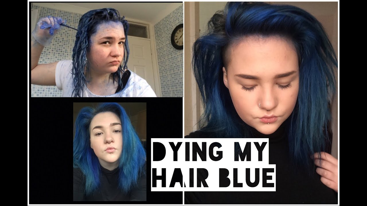 How To Bright Blue Hair Schwarzkopf Live Colour Xxl