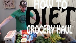 Weight loss grocery haul | Diet foods to buy | #SummerCut Ep.5
