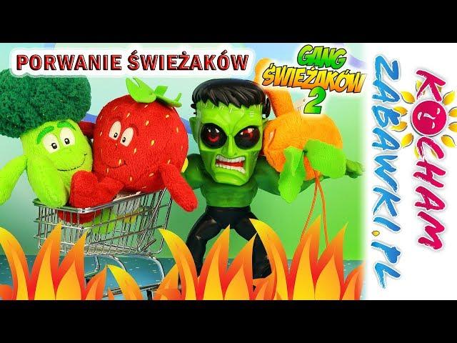 Gang Świeżaków Juniorki • Porwanie Świeżaków z Biedronki • Stretch Screamers • Bajki po polsku