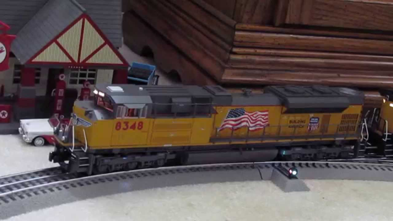 Review/ Running session of the Lionel Legacy UP SD70ACe #8348 and #8349