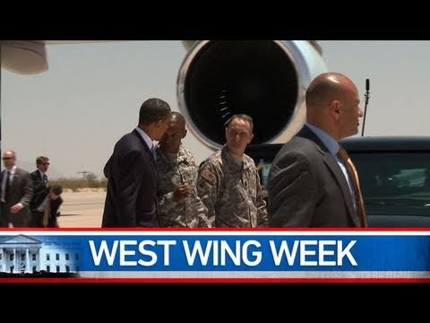 """West Wing Week: 5/13/11 or """"On the Border"""""""