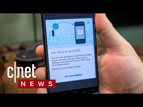 How to send SMS messages with Alexa (CNET How To)