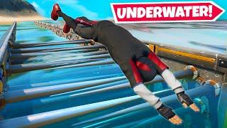 The *FIRST* UNDERWATER Deathrun In Fortnite!