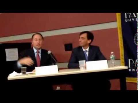 Rob Astorino and Noam Bramson face off in the final debate before Election Day.