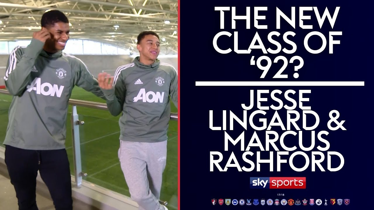 The New Class Of 92 Marcus Rashford Jesse Lingard Youtube