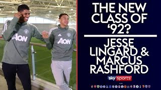 The new Class of 92? | Marcus Rashford & Jesse Lingard