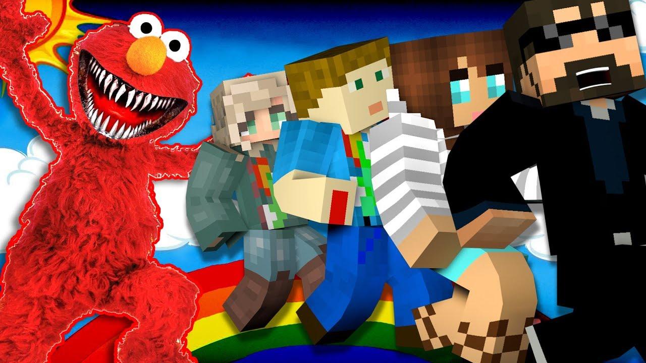 Minecraft: ELMO MURDER | MODDED MINI-GAME