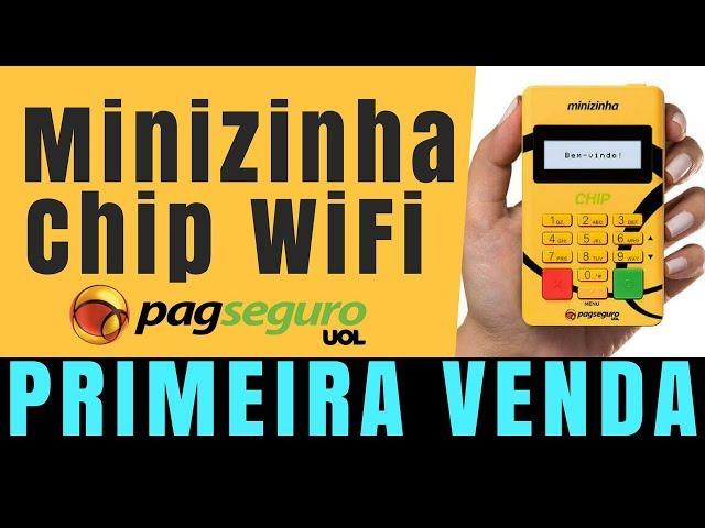 MINIZINHA CHIP da PagSeguro - PRIMEIRA VENDA