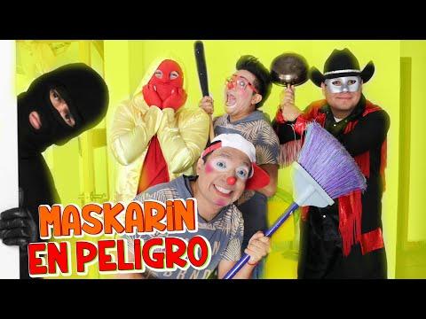 Los Destrampados salvan a Maskarin / Maskarin y Manito