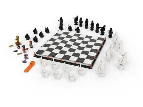 LEGO Harry Potter Hogwarts Chess - Video
