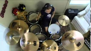 "EVANESCENCE ""Bring Me To Life"" a drum cover by Emily"