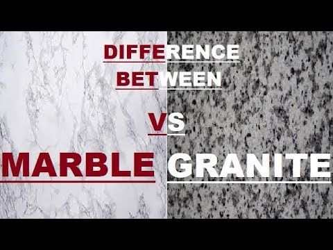 Difference Between Marble & Granite Stone