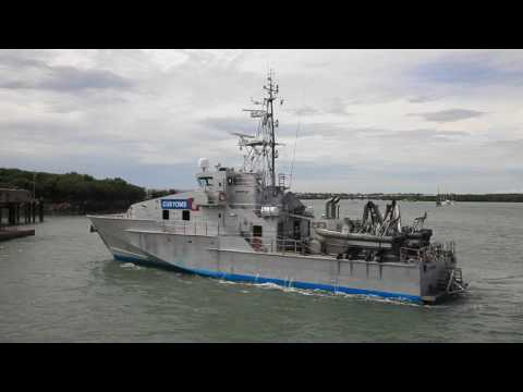 Bay Class Patrol Boat, Australian Customs and Border Protection Service, Darwin, NT, Australia.