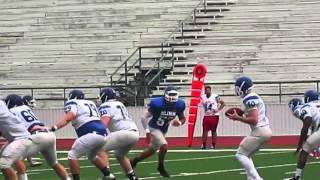 blinn football blue and white spring game april 29 2016