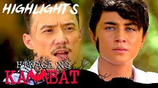 Zandro interrogates Iking about the identity of Paniki Boy   Hiwaga Ng Kambat (With Eng Subs)