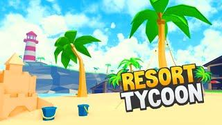 MILLIONAIRE ISLAND 100% COMPLETE!   Roblox Resort Tycoon