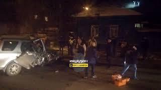 Новосибирск. ДТП на Волочаевской.