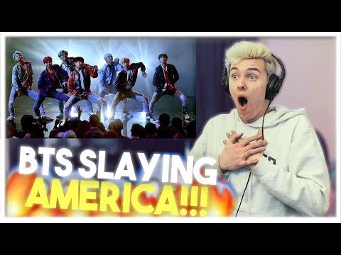 BTS - DNA LIVE PERFORMANCE AT THE AMAs REACTION!!  [SLAYING AMERICA!!!]