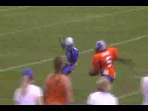 2007 Klein Jr Broncos Howard 2nd TD of Season