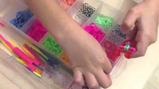 веник из резинок (обучающее видео) Алина 6 лет