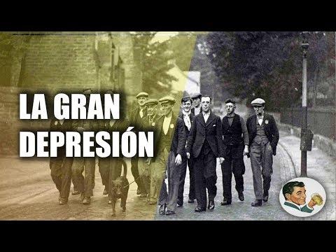 ¿Qué causó la GRAN DEPRESIÓN?