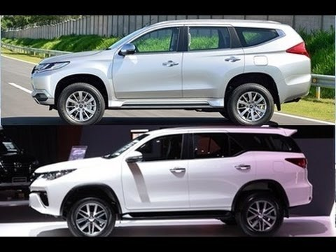 Mitsubishi All New Pajero Sport 2017 >> Komparasi SUV 2016 : All New Pajero VS All New Fortuner ...
