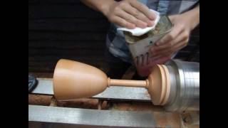 Woodturning Projects - Turning A Wooden Goblet