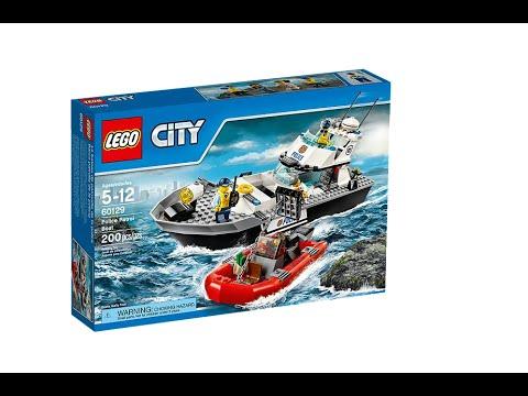 Lego Police Patrol Boat Set 60129 Youtube