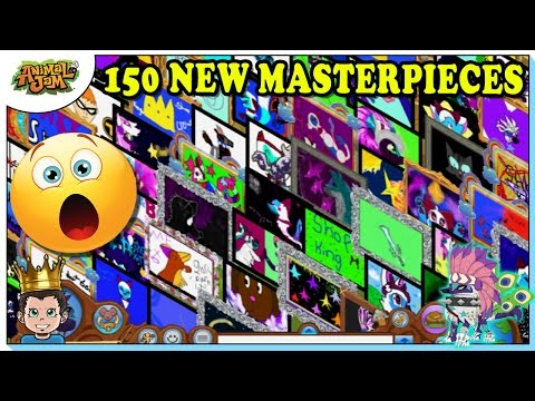LOOKING AT 150 NEW MASTERPIECES ON ANIMAL JAM