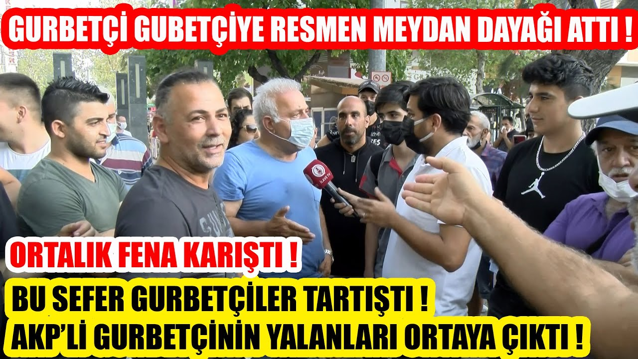 Download AKP'Lİ GURBETÇİYİ DİĞER GURBETÇİLER RESMEN TOKATLADI ! BÜTÜN YALANLARI ORTAYA ÇIKTI !
