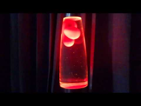 What Are Lava Lamps Made Of Simple My Home Made Pink Ooze Lava Lamp YouTube