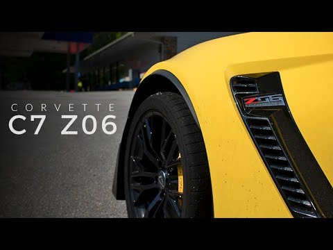 Mountain Driving:  Car 1 – C7 Corvette Z06