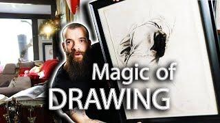 Mastering Drawing is the Magic of Art. Cesar Santos vlog 054