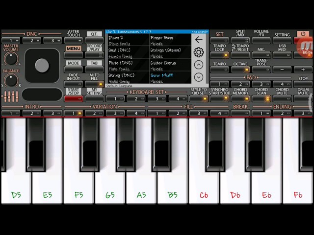 IPL music ( Tone ) on Mobile Piano ORG2018
