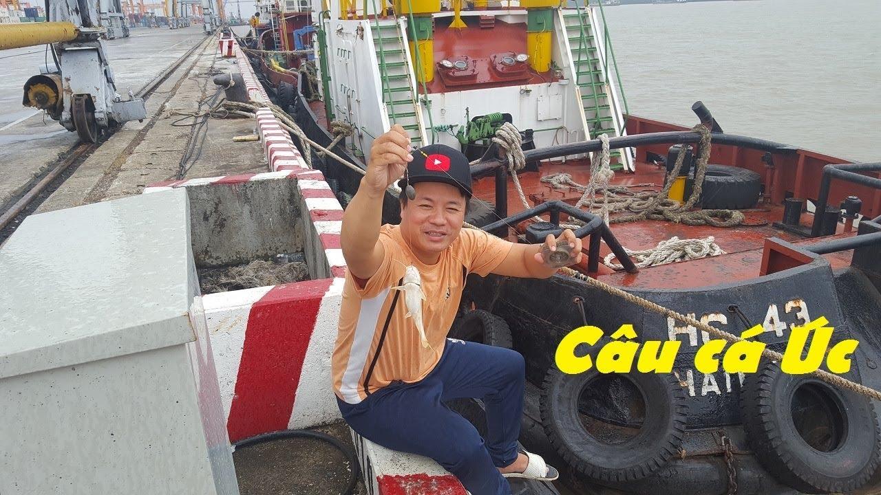 Trải nghiệm lần đầu câu cá sông ở cảng hải phòng