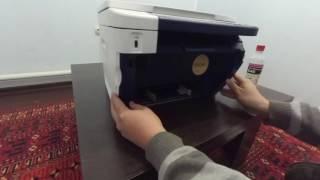 Чистка ролика захвата бумаги Work Centre 3045