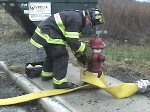 FIREFIGHTER TRAINING - FIRE HYDRANT