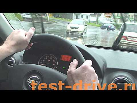 Nissan Almera офигенный тест драйв