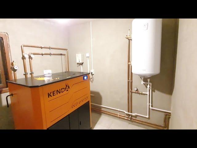 Centrale pe peleti Kenda 35 kw - Randament maxim - Consum mic