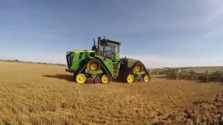 John Deere 9570RX with 60' chisel plow