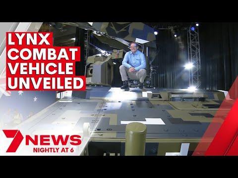 Rheinmetall's Queensland-built military combat vehicle unveiled   7NEWS