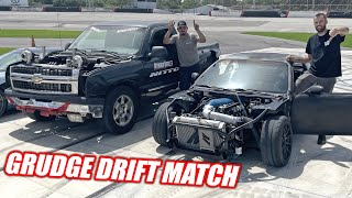homepage tile video photo for James VS. George Drift Competition!!!! The Freedom Factory Took a BEATING! (complete chaos)