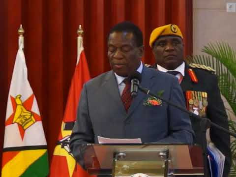 Mnangagwa Updates Mozambicans, SADC on Prevailing Situation in Zimbabwe
