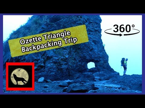 360 Video of Ozette Triangle Backpacking Trip on Washington's Pacific Coast